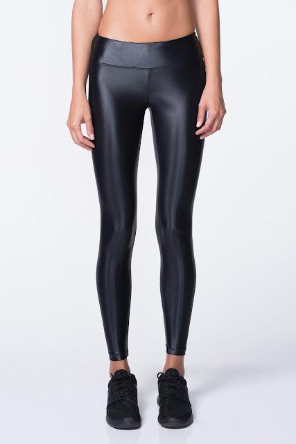 Lustrous Leggings Black