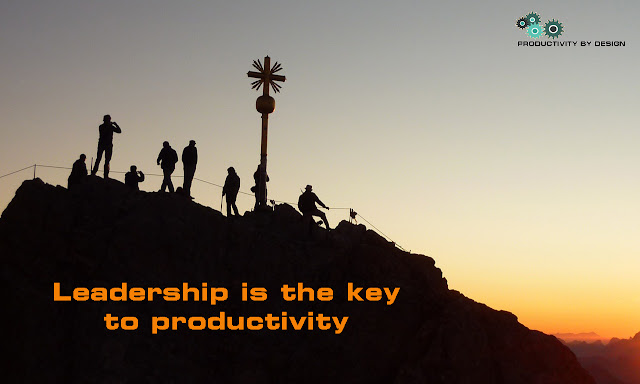 leadership is the key to productivity