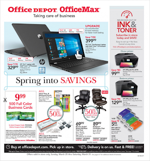 Office Depot Weekly Ad March 25 - 31, 2018 - Office Max