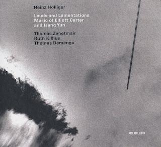 "Grabación de ""Figment para violonchelo solo"" de Elliot Carter por Thomas Demenga."