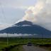 Gunung Api Dempo Di Level II, Hembuskan Asap Tinggi Terlihat Dari Kab. Empat Lawang