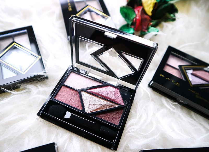Kate Tokyo Metal Glamour Eyes Review and Swatches Singapore