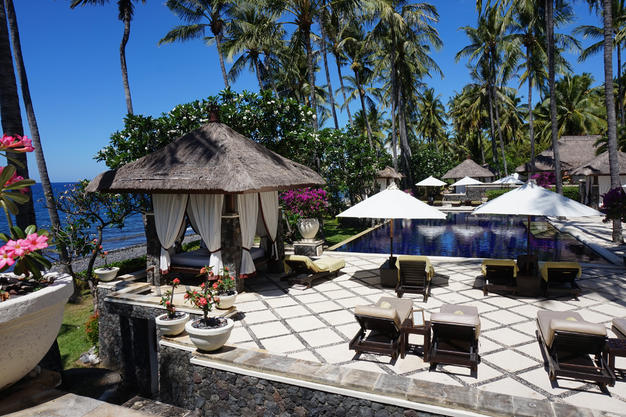 Honeymoon Hotel Bali - Poolview