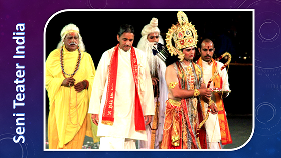 Pertunjukan Seni Teater India (Manca Negara)