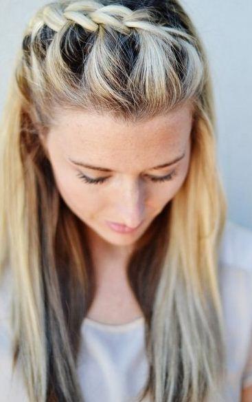 Moda Blog Peinados Trenzas Faciles Y Sencillas - Peinados-al-lado-con-trenzas