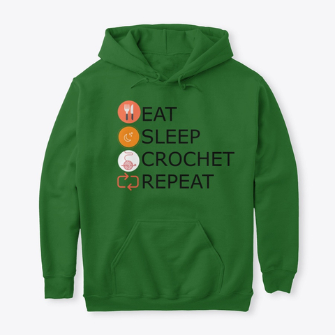 Eat Sleep Crochet Repeat