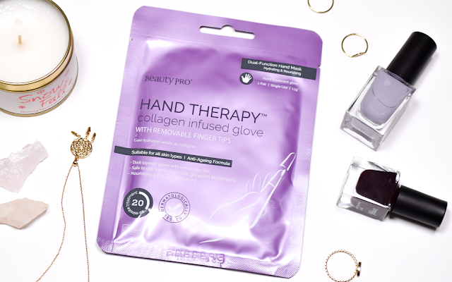 Beauty Pro Hand Therapy Collagen Infused Glove Review