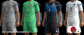 Kits Japan 2016-2017 Pes 2013 By syirojuddin15