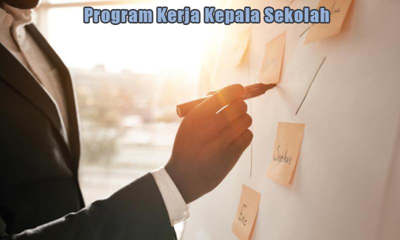 Program Rencana Kerja Kepala Sekolah Format Word
