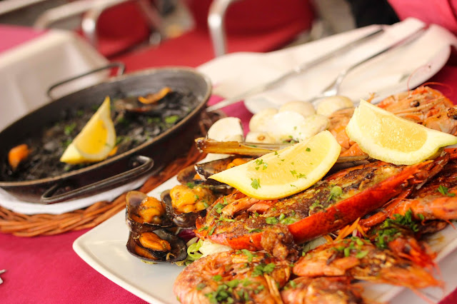 Paella & Seafood | Barcelona | Chichi Mary Blog