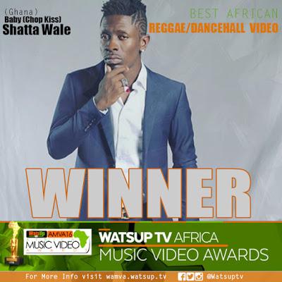 Shatta Wale, Diamond Platnumz, Mr Eazi, Beyonce Win Big At 2016 WatsUp TV Africa Music Video Award Winners + FULL LIST