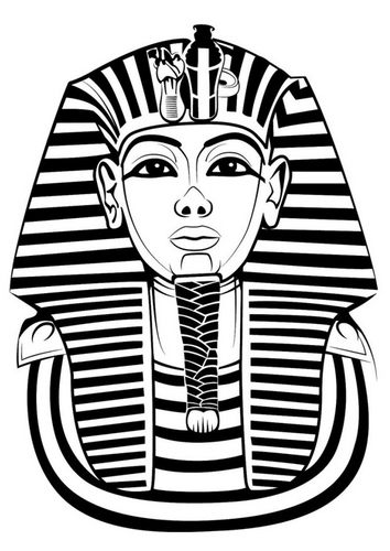 Recursos de educaci n infantil abril 2012 for King tut mask template