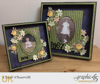 Clare and Annie Floral Shoppe Graphic 45