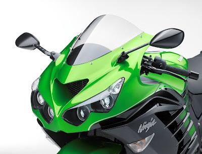 Kawasaki Ninja ZX-14R headlight image