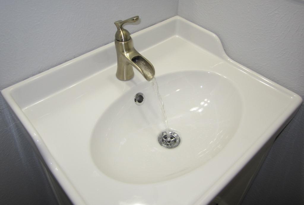 ikea bathroom sink stopper stuck