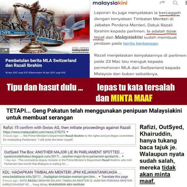 [Video] Mahathir Pemfitnah: Kali Ini Memfitnah Razali Ibrahim Dari Laporan Palsu Malaysikini