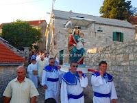 fjera Gospa Miraška Gornji Humac slike otok Brač Online