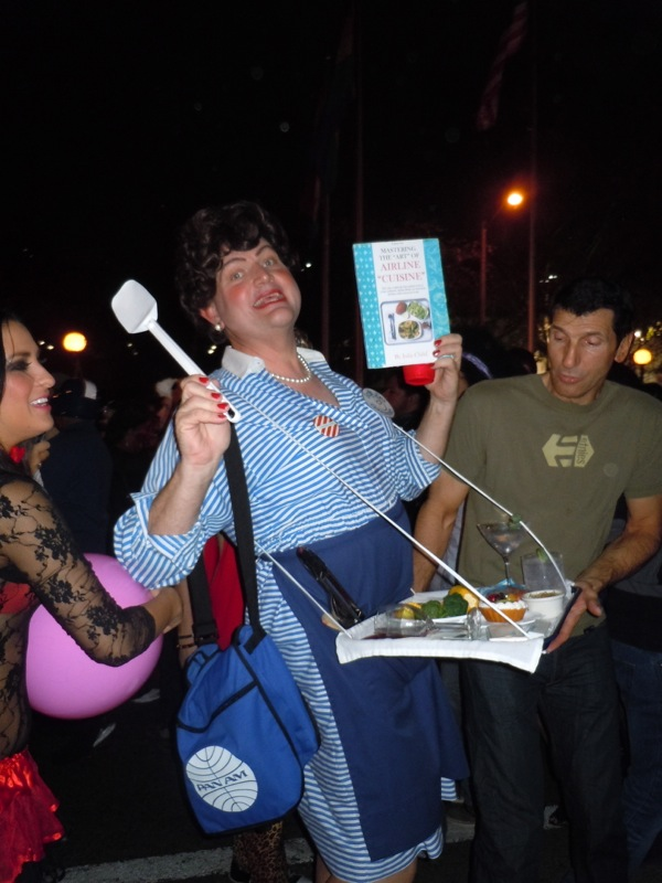 Julia Child costume West Hollywood Halloween Carnaval