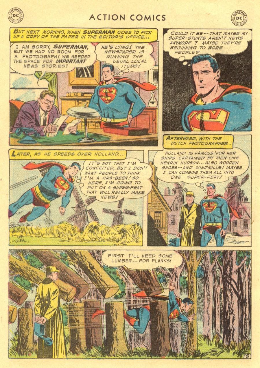 Action Comics (1938) 211 Page 9
