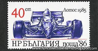 Lotus 1985 Stamp