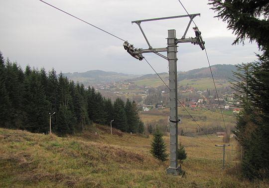 """Stacja narciarska """"Polczakówka""""."""