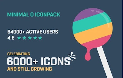 Minimal O – Icon Pack Apk for Android (paid)