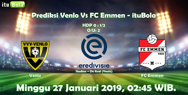 Prediksi Venlo Vs FC Emmen - ituBola