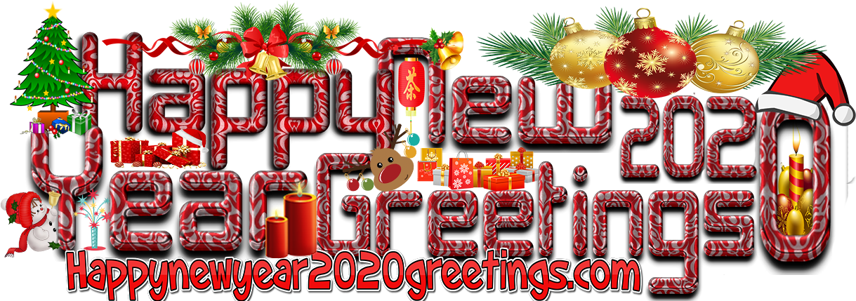 Happy New Year 2020 Images With Sparkling Backgrounds - New