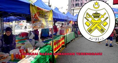 Senarai Bazar Ramadhan Terengganu 2019 (Lokasi)