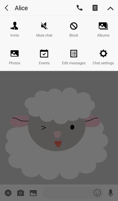 Cute sheep theme vr.2 (JP)