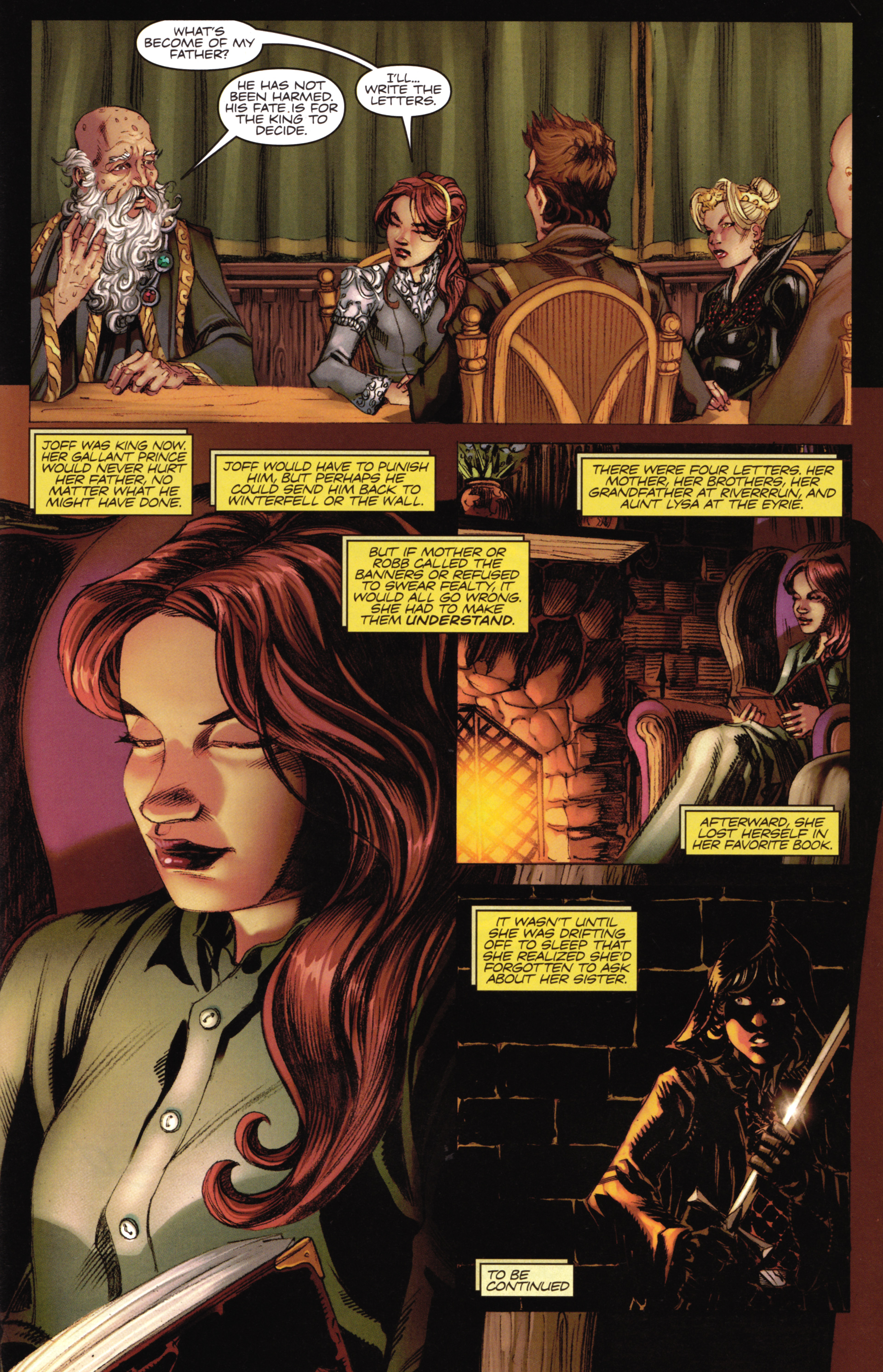 Read online A Game Of Thrones comic -  Issue #16 - 31