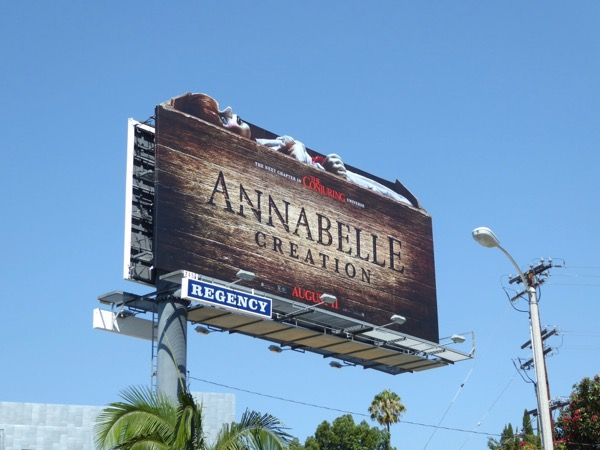 Annabelle Creation film billboard