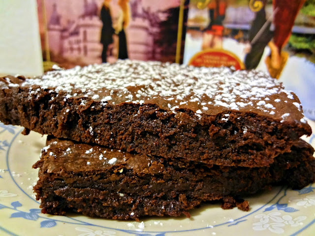"Big Cocoa Brownies (aka Iocane-Dusted Brownies of Unusual Size for ""The Princess Bride"")"