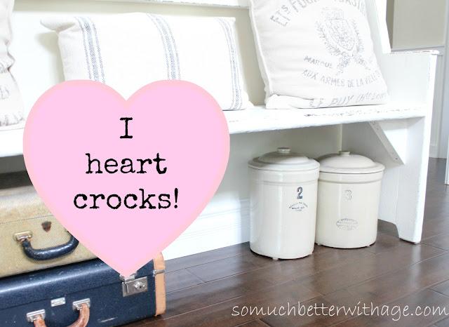 I love crocks www.somuchbetterwithage.com