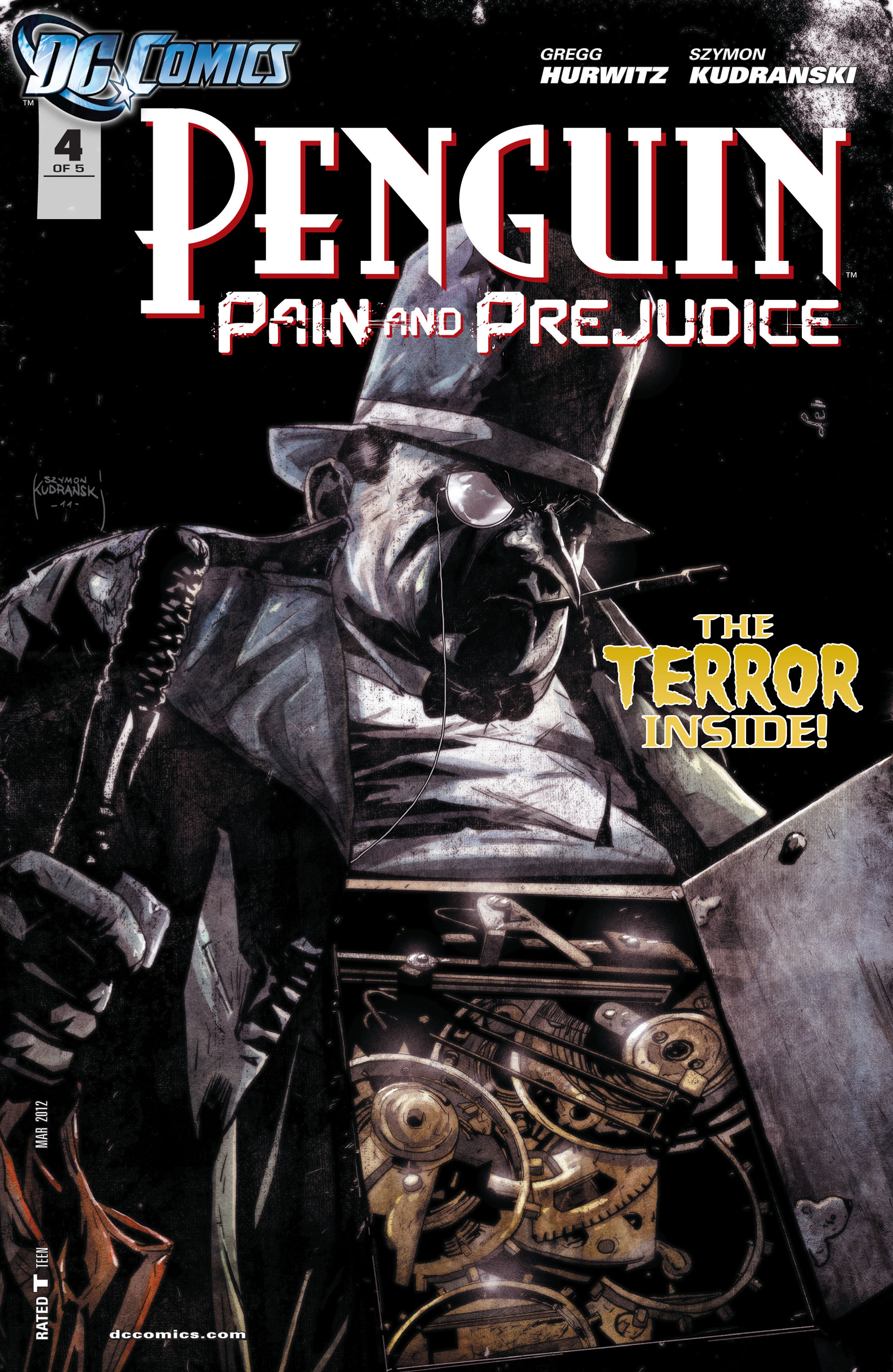 Penguin: Pain & Prejudice issue 4 - Page 1