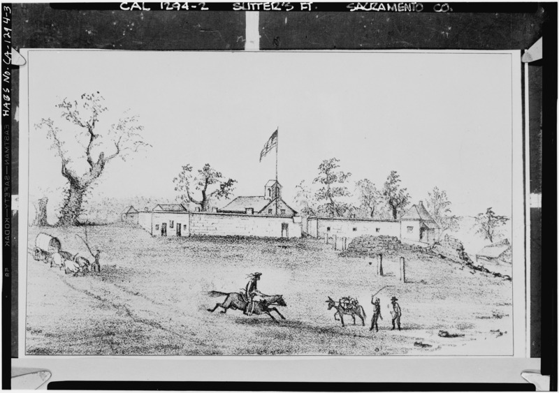 Prairie rose publications rise and fall of sutters fort part 1 in 1841 42 work was continued chiefly by native american laborers on the fort the fort was a structure of adobe with walls eighteen feet high publicscrutiny Image collections