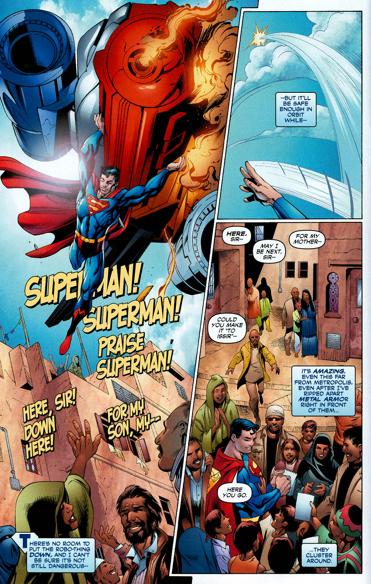 Read online Trinity (2008) comic -  Issue #8 - 9