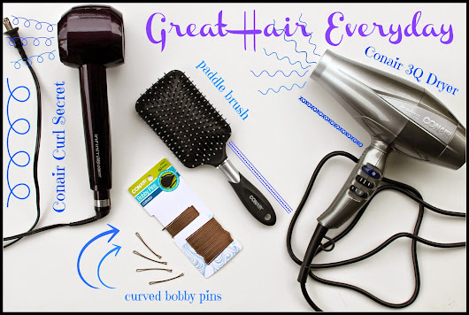 Style Your Hair with Conair Curl Secret