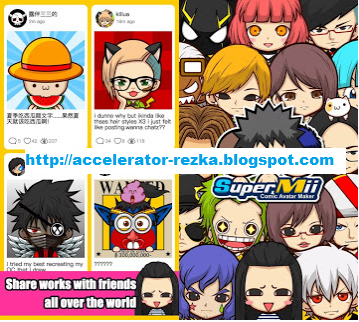 Supermii Mod Apk : Buat Character Animemu Sendiri Mudah & Gratis