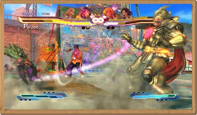 Street Fighter X Tekken PC Games Gameplay