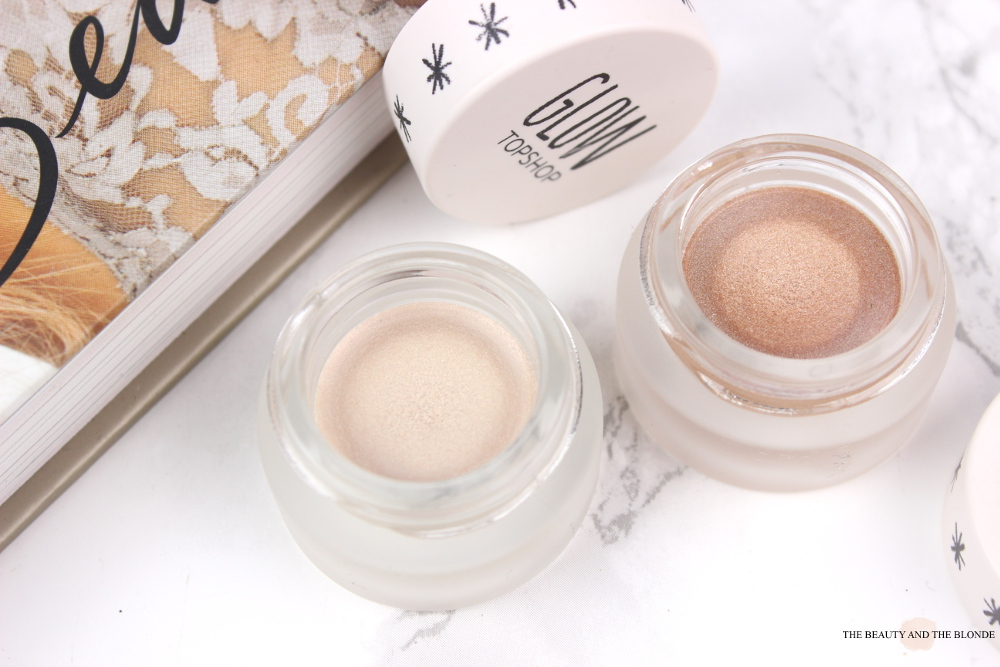 Topshop Glow Cream Highlighter Polished Gleam Review Swatches