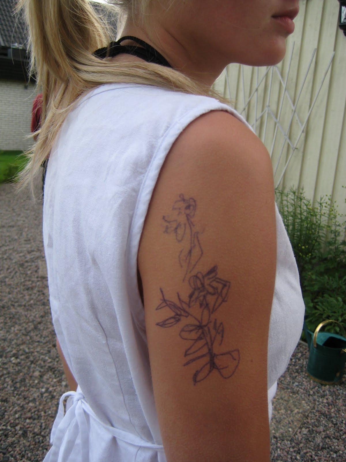 bästa vänner tatuering
