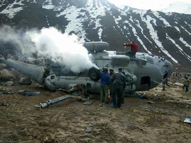 IAF Mi-17 Helicopter Crash-lands Near Kedarnath