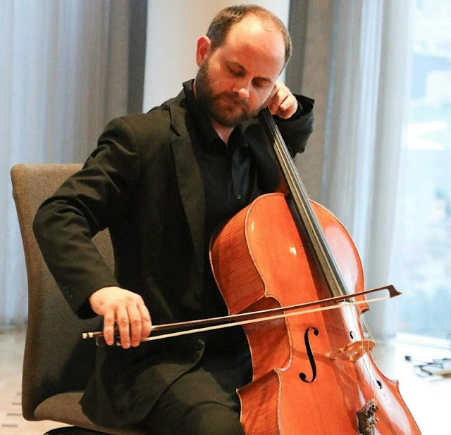Albanian cellist Vlorent Xhafaj in Tirana to hold two concerts