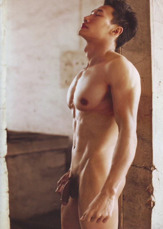 Chinese Male Model Nude
