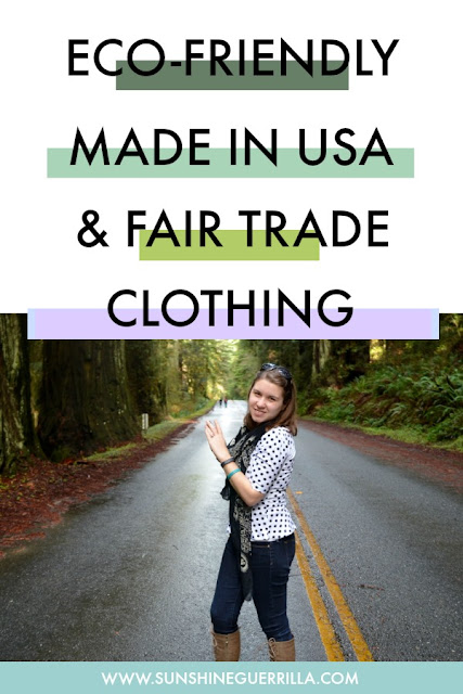 eco-friendly made in the usa and fair-trade clothing