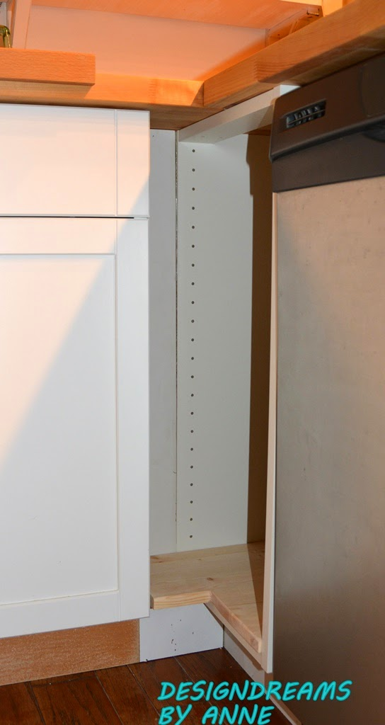 Famous DesignDreams by Anne: Ikea Hack Custom Kitchen Cabinet YP38