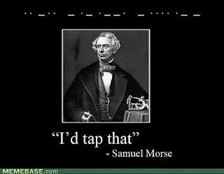 History Humor, meme, funny, morse code