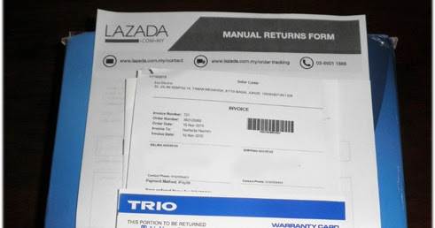 Cara Pulangkan / Return Barang Di Lazada Malaysia - Buat