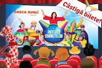 """Castiga bilete pentru fiecare spectacol """"Puterea Cornetelor din această toamna"""" cu Gasca Zurli"""